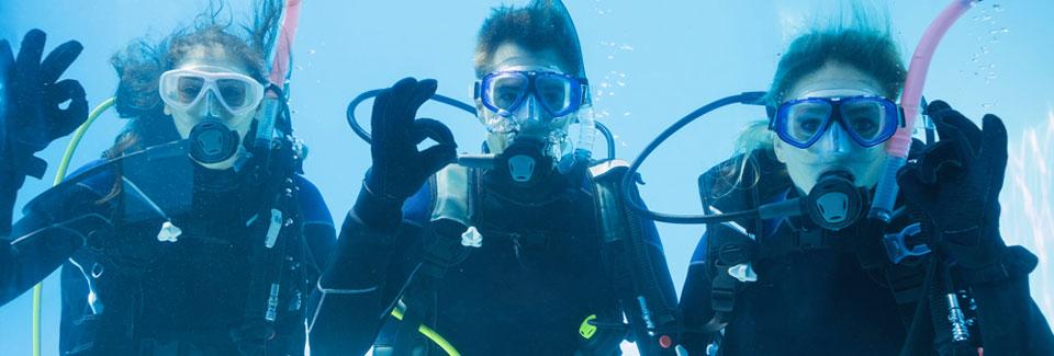 scuba class