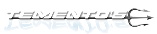 Temento's Dive, Boat, Trailer, and Hardware Retina Logo