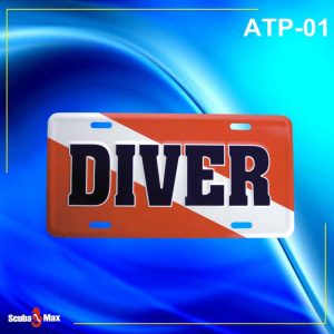 Scuba Max ATP-01 Dive Flag License Plate